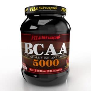 Αμινοξέα σε Σκόνη iBCAA 8 1 1 JuicyFresh® 750gr της Fit & Shape Peach