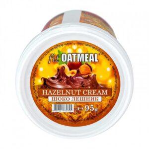 Γεύμα Βρώμης με Πρωτεΐνη fit Oatmeal 95gr της Fit & Shape Hazelnut Chocolate