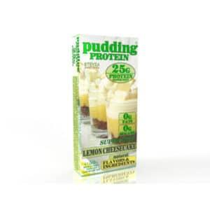 Γεύμα Πρωτεΐνης Protein Pudding Super Diet 50gr της Fit & Shape Lemon Cheesecake