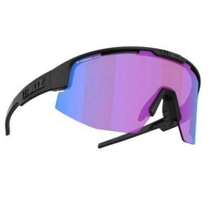 Γυαλιά Ποδηλασίας Matrix Small Nano Matt Black με Violet-Blue Φακό της Bliz