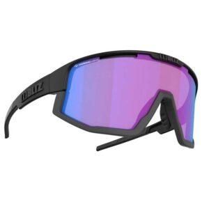 Γυαλιά Ποδηλασίας Nano Nordic Light Matt Black με Violet-Blue Φακό της Bliz