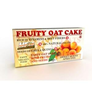 Ενεργειακή Μπάρα Πρωτεΐνης Fruity Oat Cake 80gr της Fit & Shape Sunny Apricot