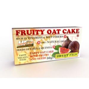 Ενεργειακή Μπάρα Πρωτεΐνης Fruity Oat Cake 80gr της Fit & Shape Sweet Figs