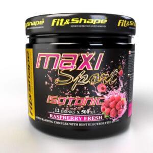 Ενεργειακό Ποτό Maxi Sport® ISOTONIC 420gr της Fit & Shape Raspberry
