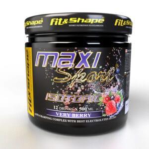 Ενεργειακό Ποτό Maxi Sport® ISOTONIC 420gr της Fit & Shape Very Berry