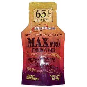 Ενεργειακό Τζελ MAX PRO ® 40gr της Fit Shape