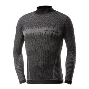 Ισοθερμική Μπλούζα Lupetto 3D Μαύρη