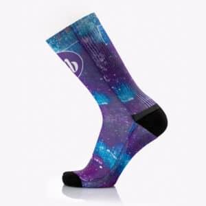 Κάλτσες για Τρέξιμο MB Trek Fun Universe της MB Wear