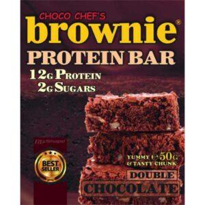Μπάρα Πρωτεΐνης (Διπλή Σοκολάτα) BROWNIE® 50gr της Fit & Shape
