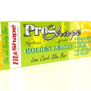 Μπάρα Πρωτεΐνης ProShape® 36% 40gr της Fit & Shape Golden Lemon