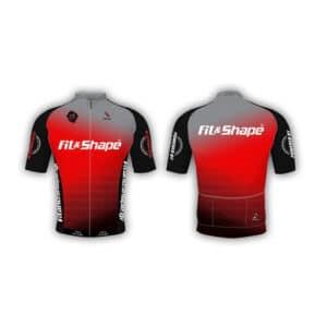 Μπλούζα Ποδηλασίας Jersey Lines Red