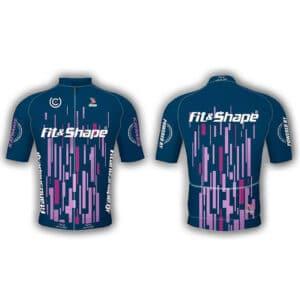 Μπλούζα Ποδηλασίας Jersey Matrix Blue