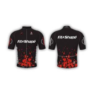 Μπλούζα Ποδηλασίας Jersey Splash Red
