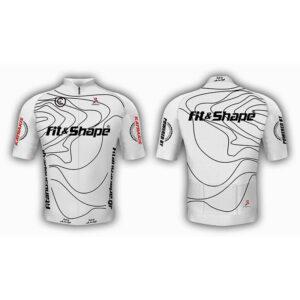 Μπλούζα Ποδηλασίας Jersey White Waves