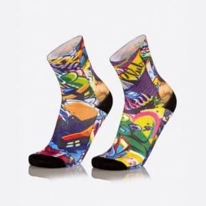 Ποδηλατικές Κάλτσες Fun Wild Gorilla της MB Wear