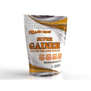 Πρωτεΐνη Όγκου + Κρεατίνη σε Σκόνη 2250gr Super Gainer της Fit & Shape