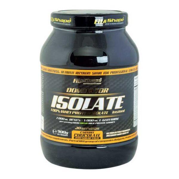 Πρωτεΐνη & Αμινοξέα σε Σκόνη Dominator 100% Whey Isolate 900gr Chocolate Caramel
