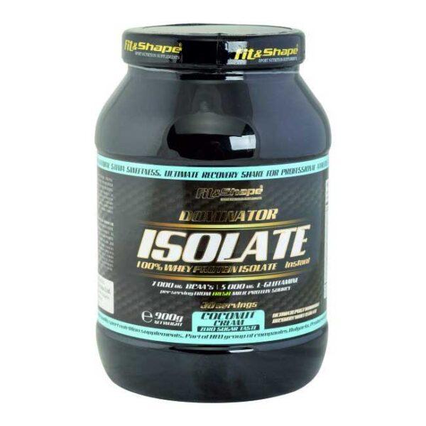 Πρωτεΐνη & Αμινοξέα σε Σκόνη Dominator 100% Whey Isolate 900gr Coconut Cream