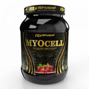 Πρωτεΐνη & Αμινοξέα σε Σκόνη MyoCell® 1260gr RaspberryStrawberry