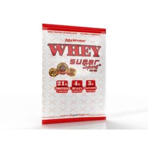 """Πρωτεΐνη σε Σκόνη, 30gr Φακελάκι WHEY """"Super Sport"""" της Fit & Shape"""