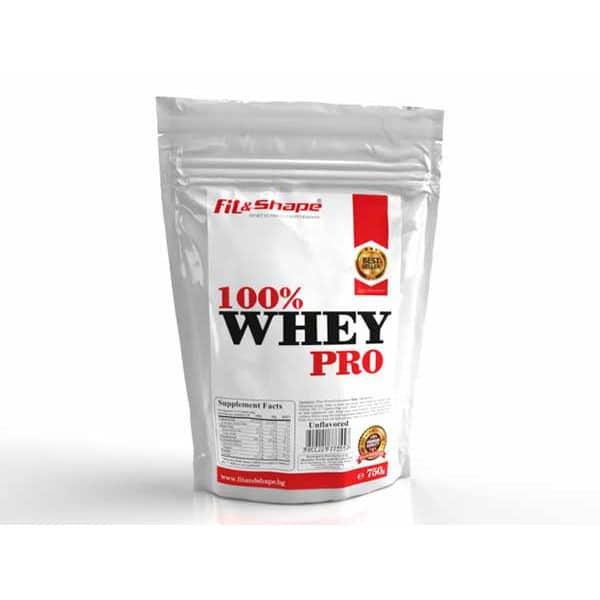 Πρωτεΐνη σε Σκόνη 750gr (zipper bag) – Fit & Shape – 100% WHEY Pro