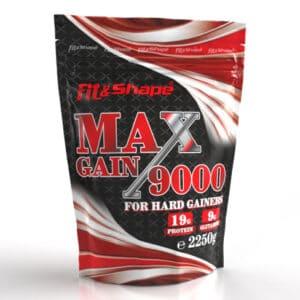 Πρωτεΐνη σε Σκόνη MAX GAIN 9000 2250gr της Fit & Shape
