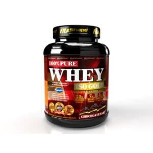 Πρωτεΐνη σε Σκόνη Pure WHEY Iso GOLD 2270gr της Fit & Shape Chockolate Tart