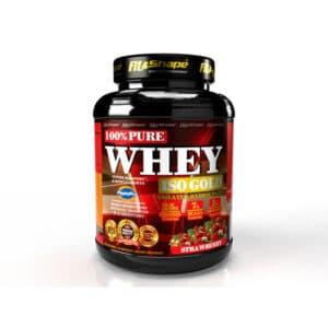 Πρωτεΐνη σε Σκόνη Pure WHEY Iso GOLD 2270gr της Fit & Shape strawberry
