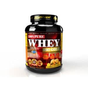 Πρωτεΐνη σε Σκόνη Pure WHEY Iso GOLD 2270gr της Fit & Shape vanilla ice cream