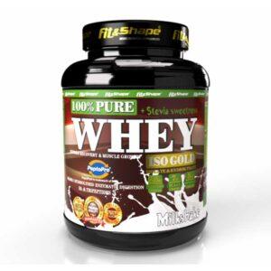 Πρωτεΐνη σε Σκόνη Pure WHEY Iso GOLD + STEVIA 900gr Milkshake