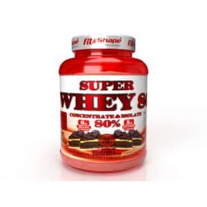 Πρωτεΐνη SUPER WHEY 80 (91 Δόσεις) 2270gr της Fit & Shape Chocolate Tart