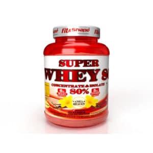 Πρωτεΐνη SUPER WHEY 80 (91 Δόσεις) 2270gr της Fit & Shape Vanilla Heaven