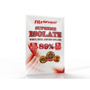 Πρωτεΐνη SUPREME ISOLATE 30gr Φακελάκι της Fit & Shape