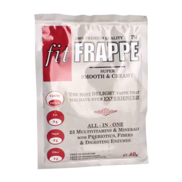 Ρόφημα Πρωτεΐνης fitFRAPPE® 10 x 40gr της Fit & Shape Shachet