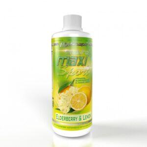 Υποτονικό Ποτό σε Υγρό MaxiSport® Endurance 1000ml της Fit & Shape Elderberry Lemon