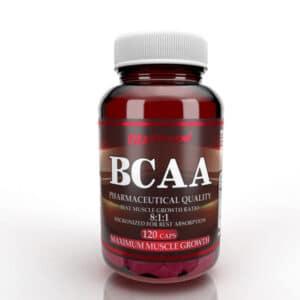 Αμινοξέα BCAA 8:1:1 120 Caps της Fit & Shape