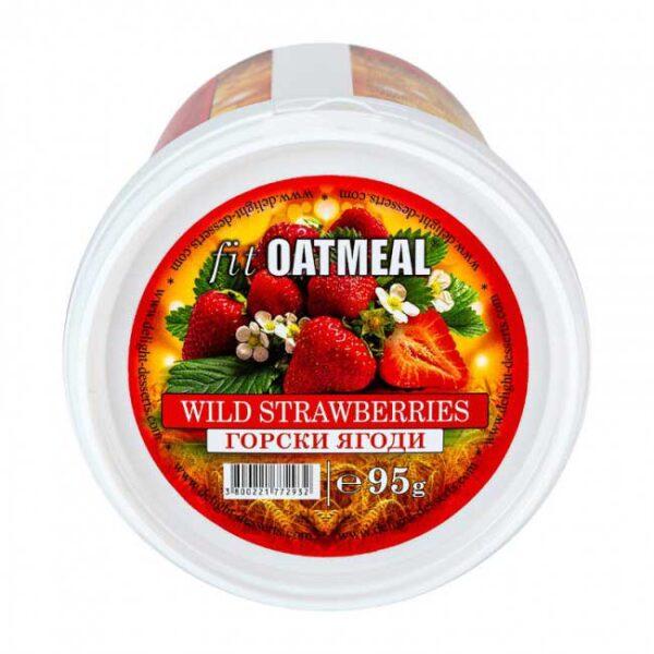 Fit oatmeal wild strawberries