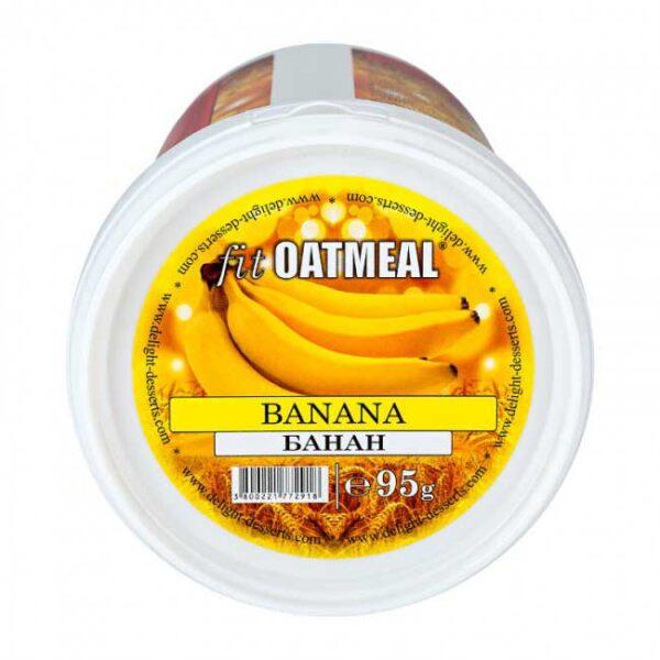 Fit oatmeal banana