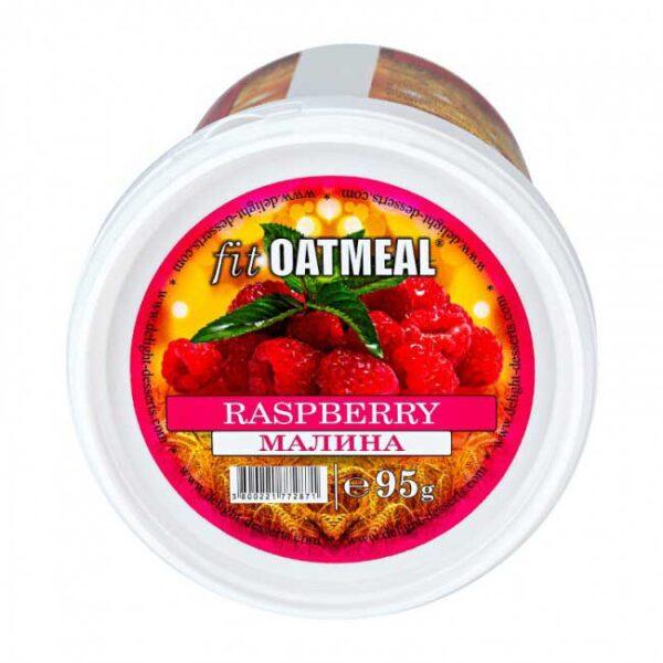 Fit oatmeal raspberry