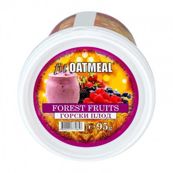 Fit oatmeal forest fruits