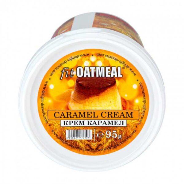 fit oatmeal caramel cream