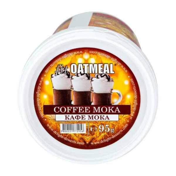 fit oatmeal coffee moka