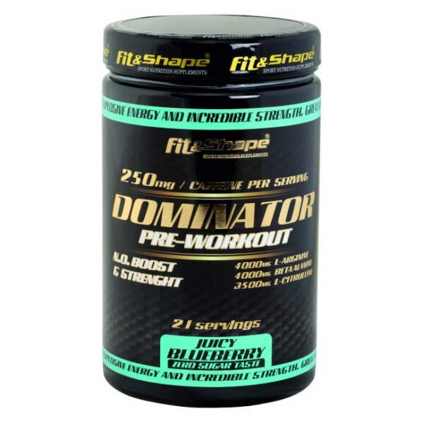 dominator pre-workout blueberry