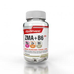ZMA+B6 Plus 60 Κάψουλες της Fit & Shape
