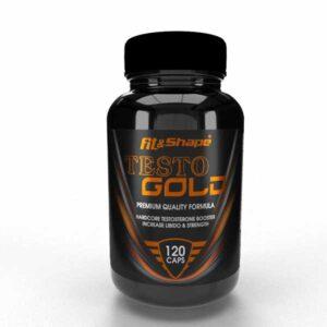 Ενισχυτικό Τεστοστερόνης TESTO Gold 120 Caps της Fit & Shape